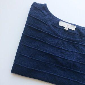 Sheer 3/4 sleeve top